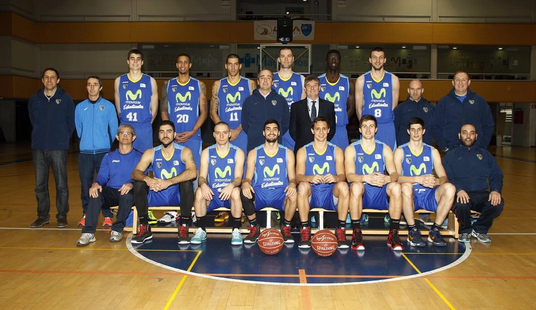 Movistar Estudiantes.  Liga Endesa 2014-15