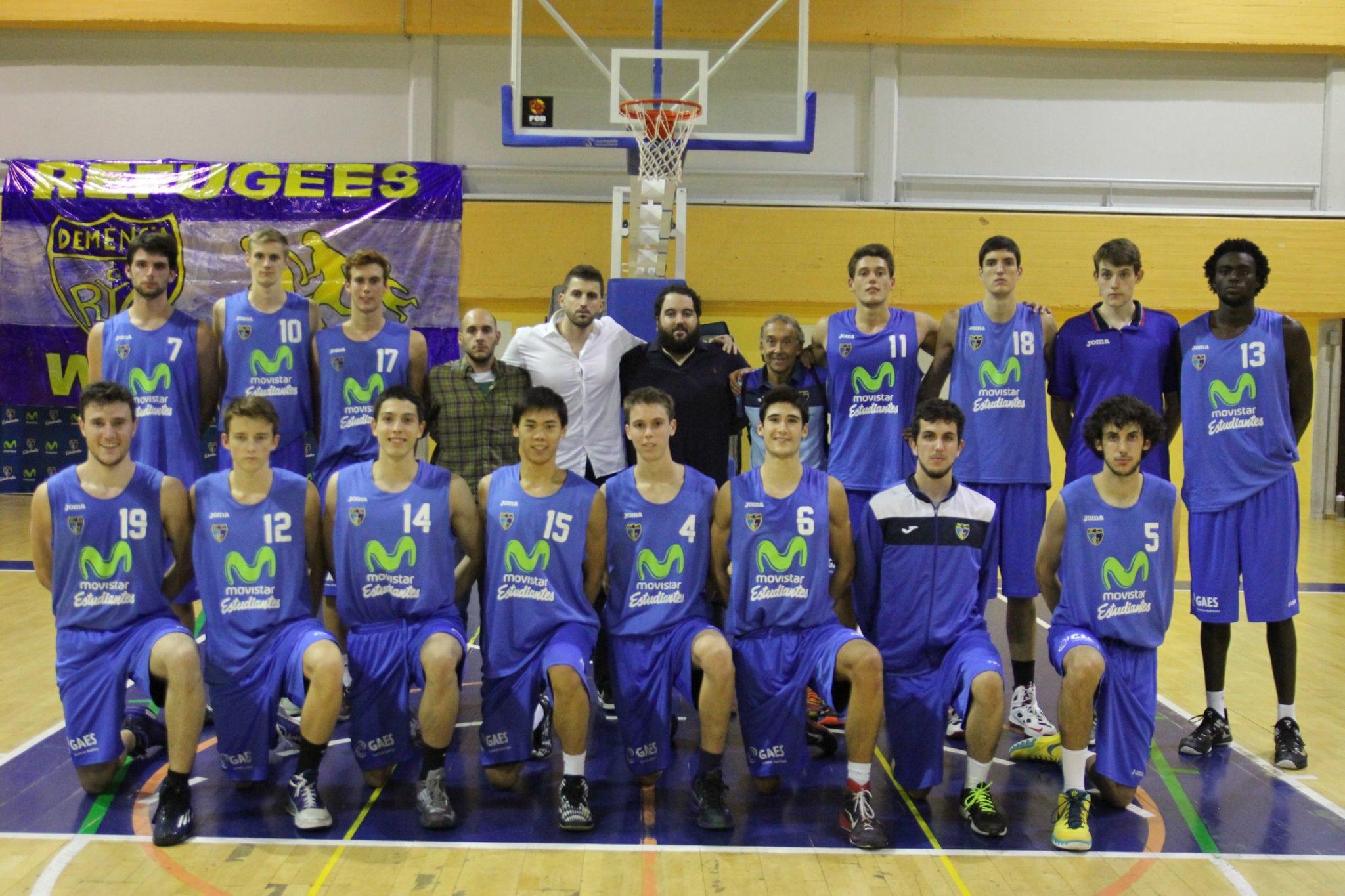 Senior B Masculino (Liga EBA). Movistar Estudiantes 2015-16