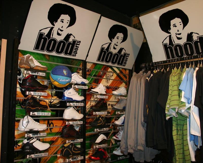 Liquidación de productos antiguos en la tienda oficial Hood Sports