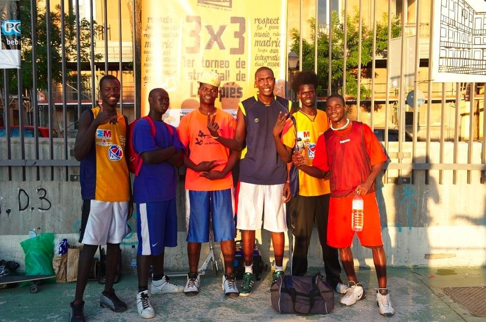 Asefa Estudiantes con el Streetball