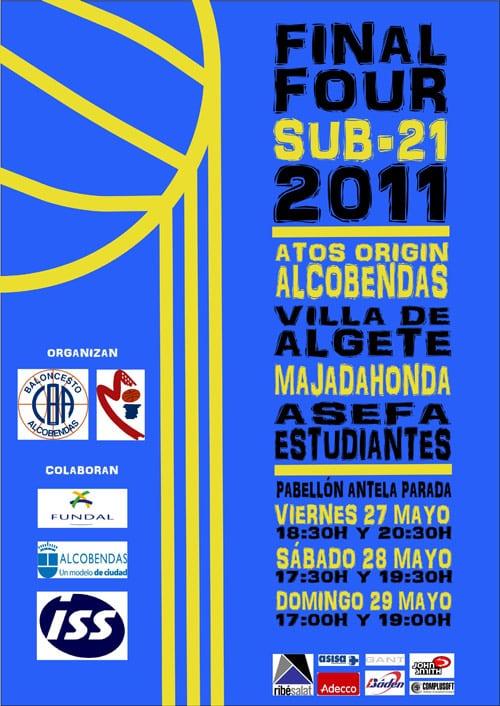 Sub-21: Fase Final de Madrid, de viernes a domingo