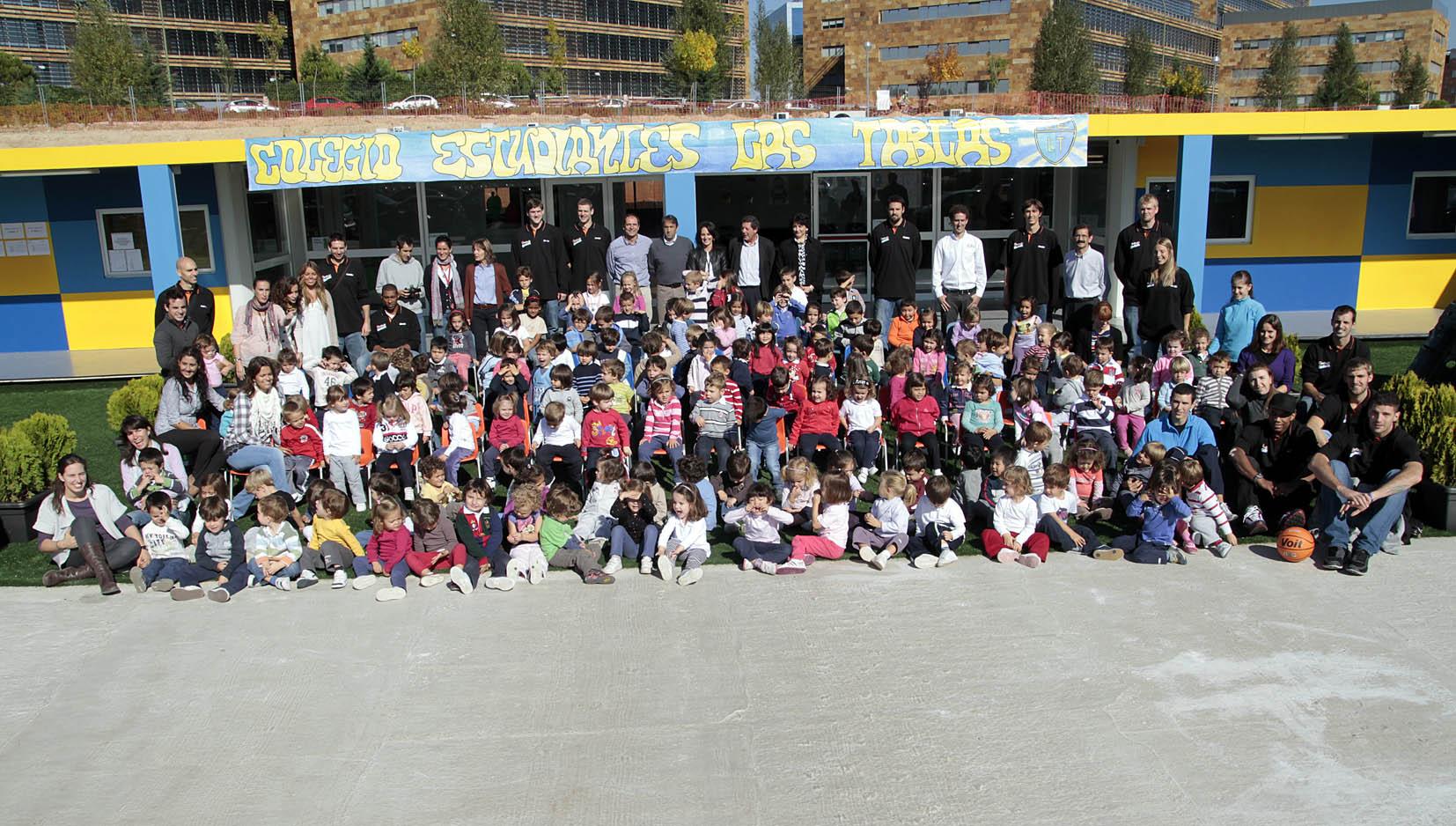 Jornada de puertas abiertas en el Colegio Estudiantes Las Tablas