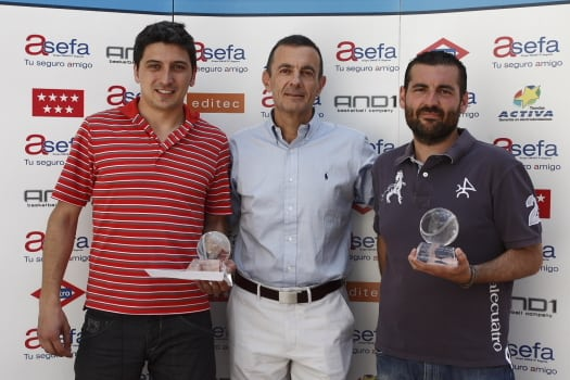 III Torneo de Padel del Club de Negocios Asefa Estudiantes: Ahorramás, campeón.