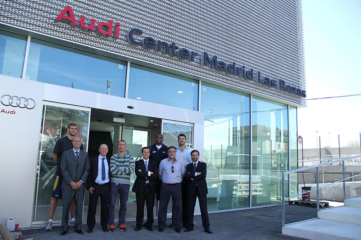 Audi Retail Madrid S.A, nuevo proveedor oficial de Asefa Estudiantes