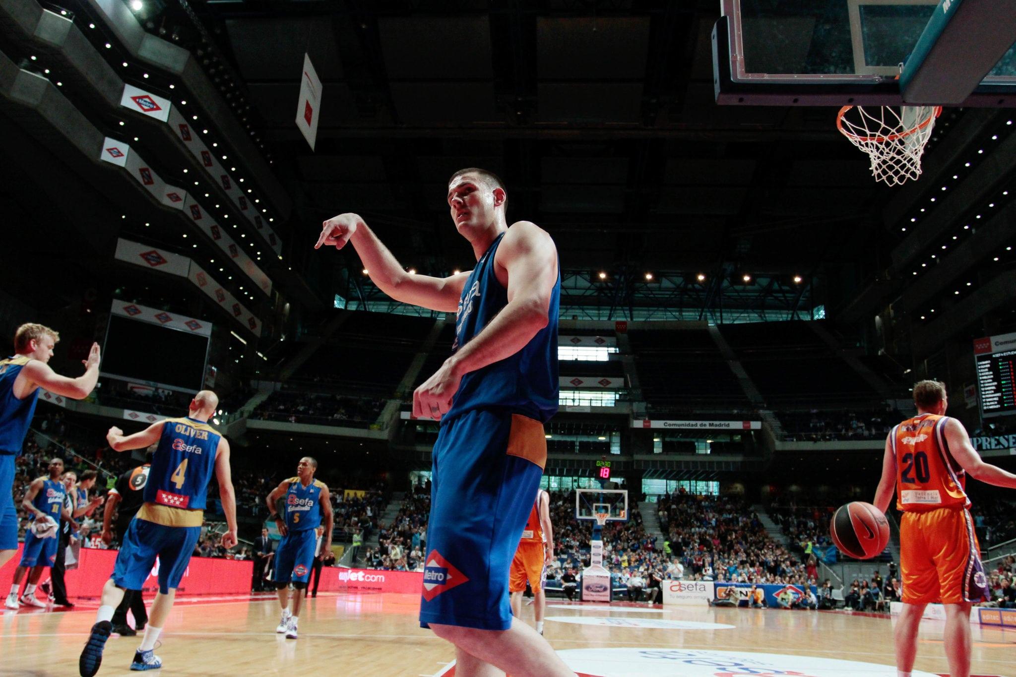 Asefa Estudiantes-Valencia Basket (Domingo 9 Octubre, 18:00)