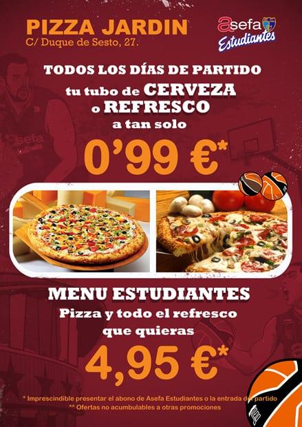 Vive el Lucentum-Asefa Estu en Pizza Jardín o Marca Sports Café