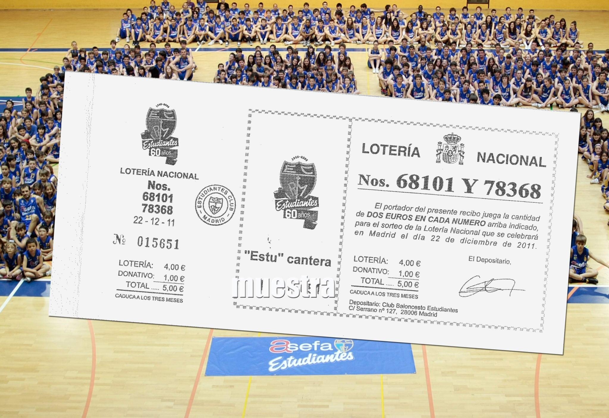 Ya puedes venir a cobrar la lotería premiada de la cantera del Club Estudiantes