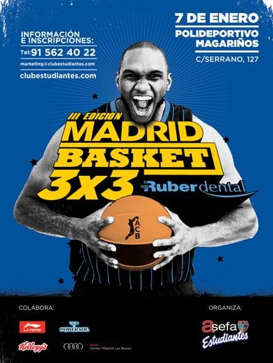III Madrid Basket 3×3 Ruber Dental, 7 de enero (Magariños)