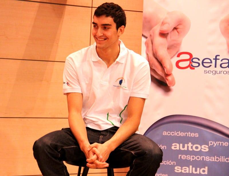 Jaime Fernández, imagen del II Torneo Fundación Leucemia y Linfoma