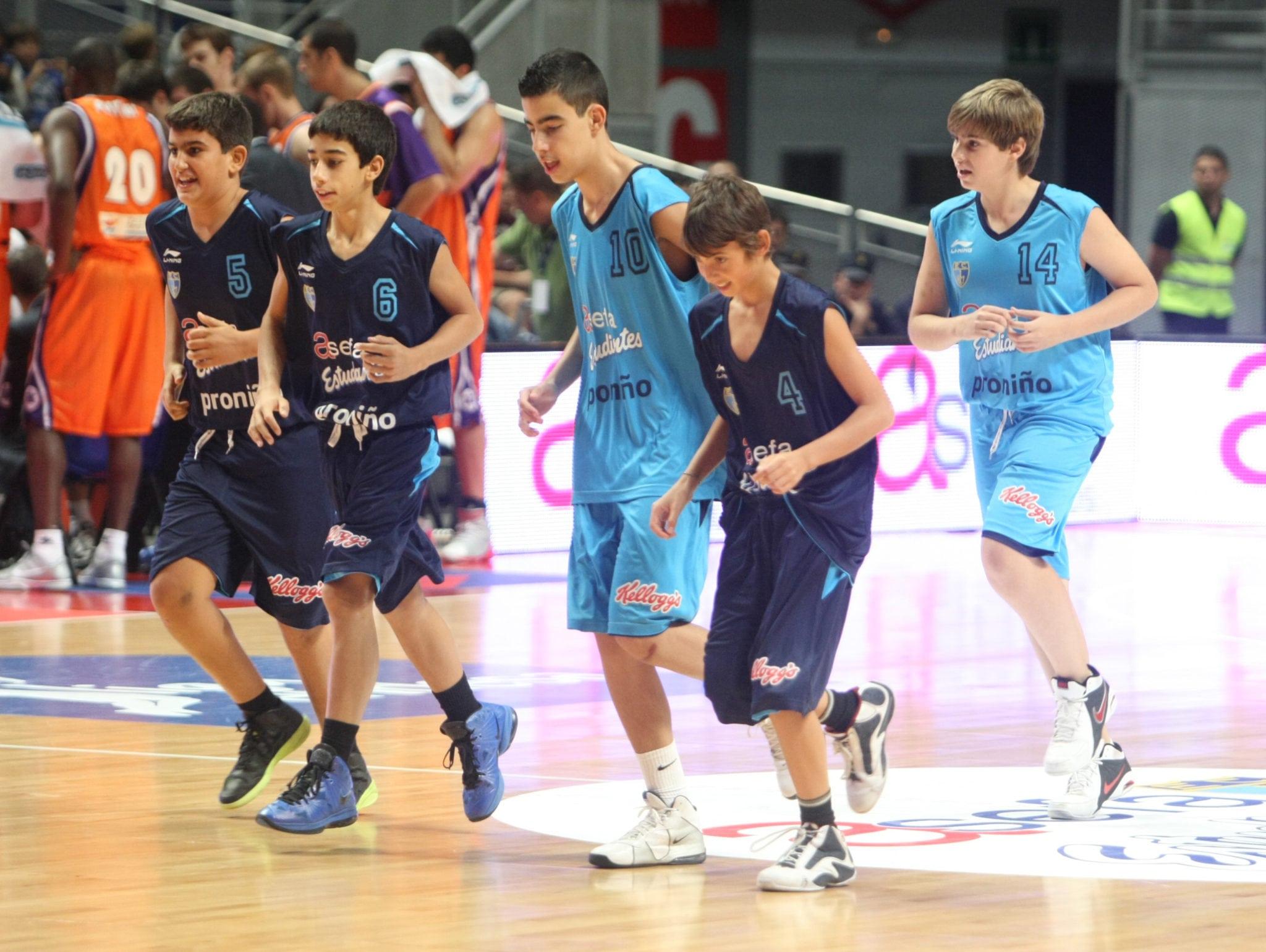 Horarios cantera (2-4 dic.): ¡Minibasket en el Magariños! y mucho más