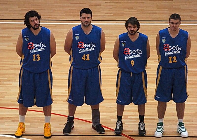 Los veteranos juegan en La Rioja