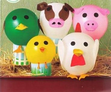 Ludoteca para los más peques en el Palacio: este sábado animales con globos