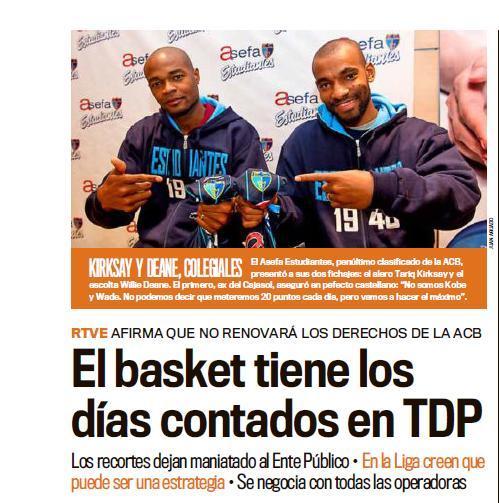 Revista de Prensa: Especial Presentación Deane y Kirksay