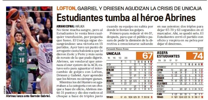 Revista de Prensa Lunes 12 Marzo