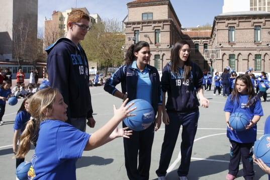 Los jóvenes alimentan el futuro en el colegio Nuestra Señora de Delicias