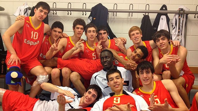 U18: España reina en Mannheim