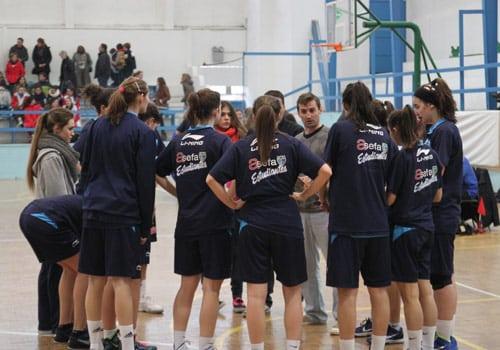 Fase Final Campeonato de Madrid Júnior Femenino