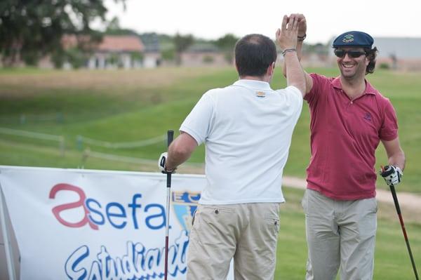 El XII Torneo de Golf cierra la temporada del Club de Negocios Asefa Estudiantes
