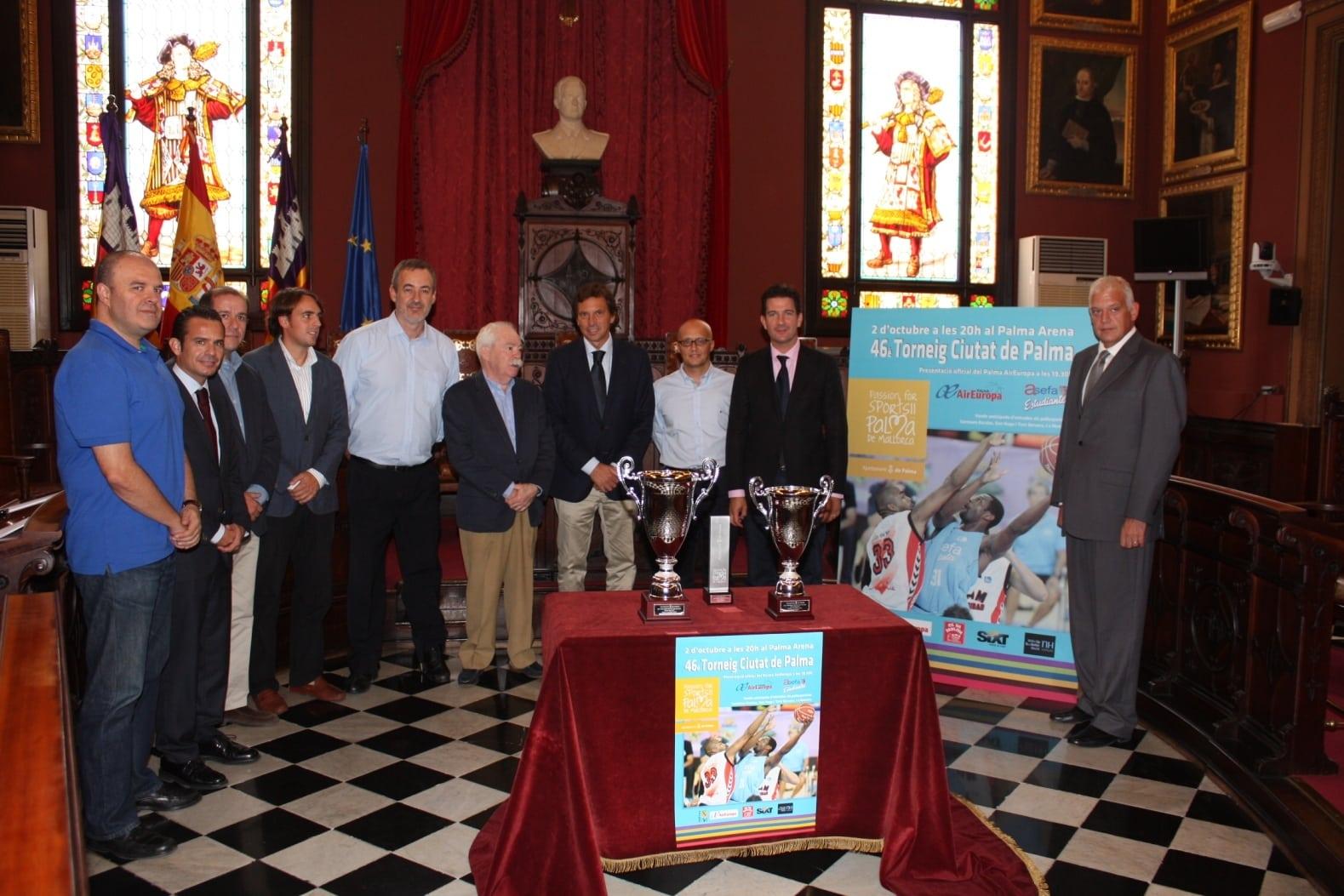 Asefa Estudiantes disputa hoy el Trofeo Ciutat de Palma (20:00)