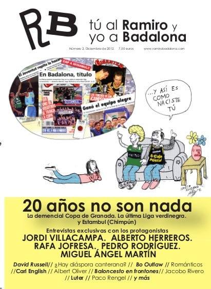 La revista Tú al Ramiro y yo a Badalona recuerda el mágico 1992 en su número 2