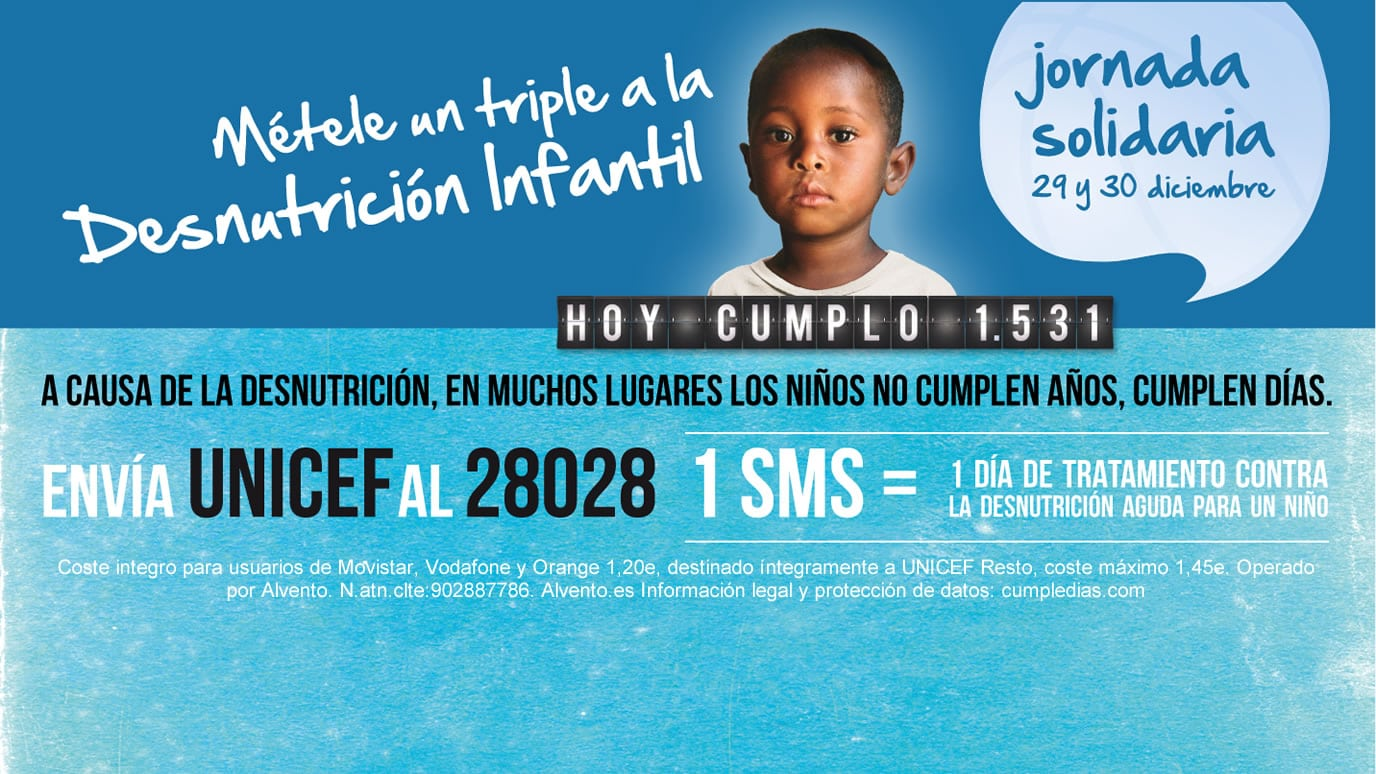 Jornada solidaria de la Liga Endesa. Un triple a la desnutrición infantil