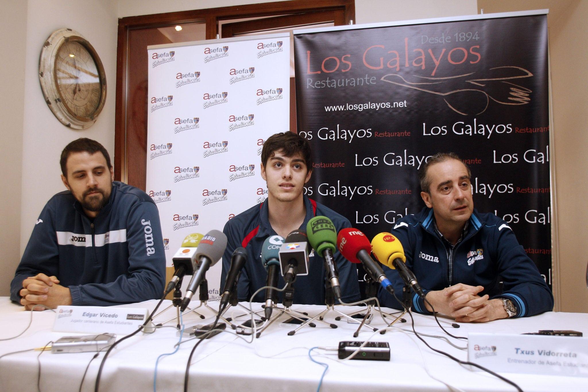"""Vicedo: """"Los jóvenes tenemos que dar el nivel para jugar en ACB"""""""