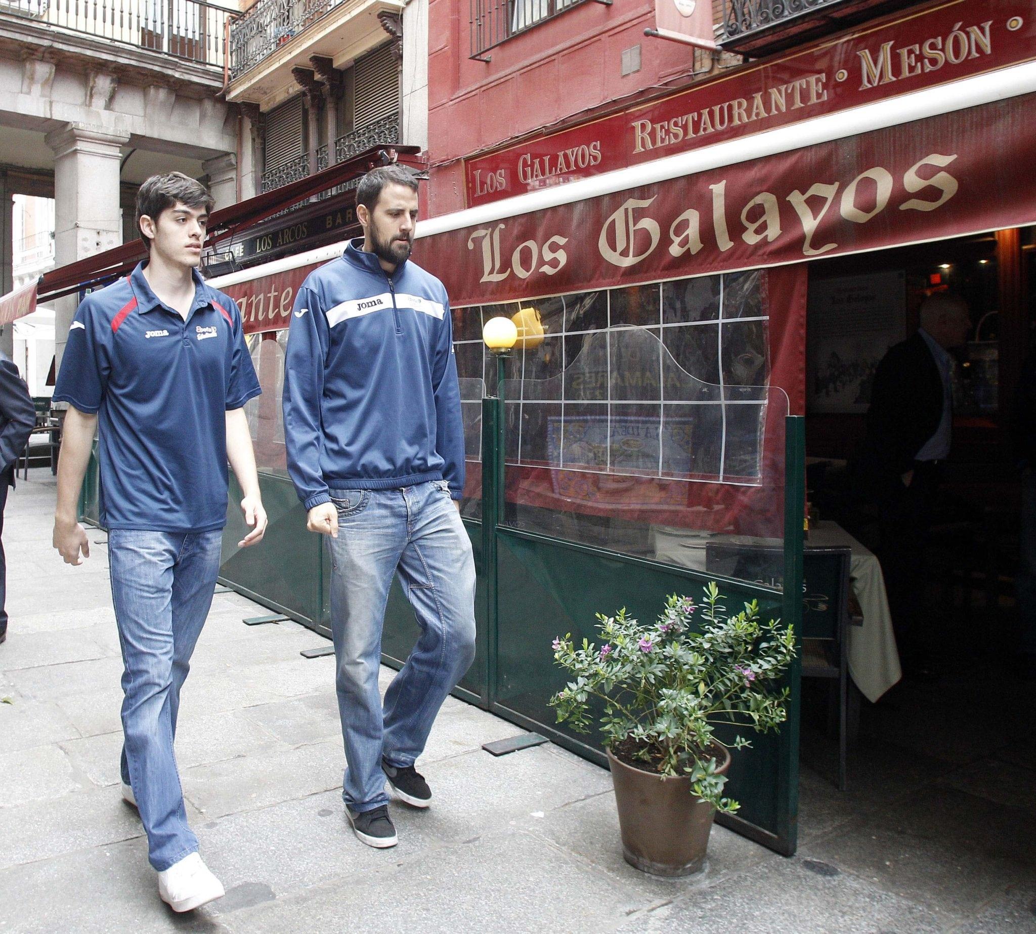 """Germán Gabriel: """"Me haría ilusión ir a la selección aunque fuera a vendar tobillos"""""""