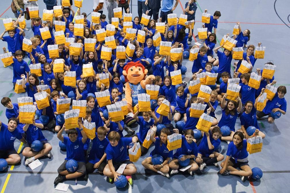 """Recta final de """"Alimentando el Futuro"""". Visita al colegio Santa Joaquina de Vedruna"""