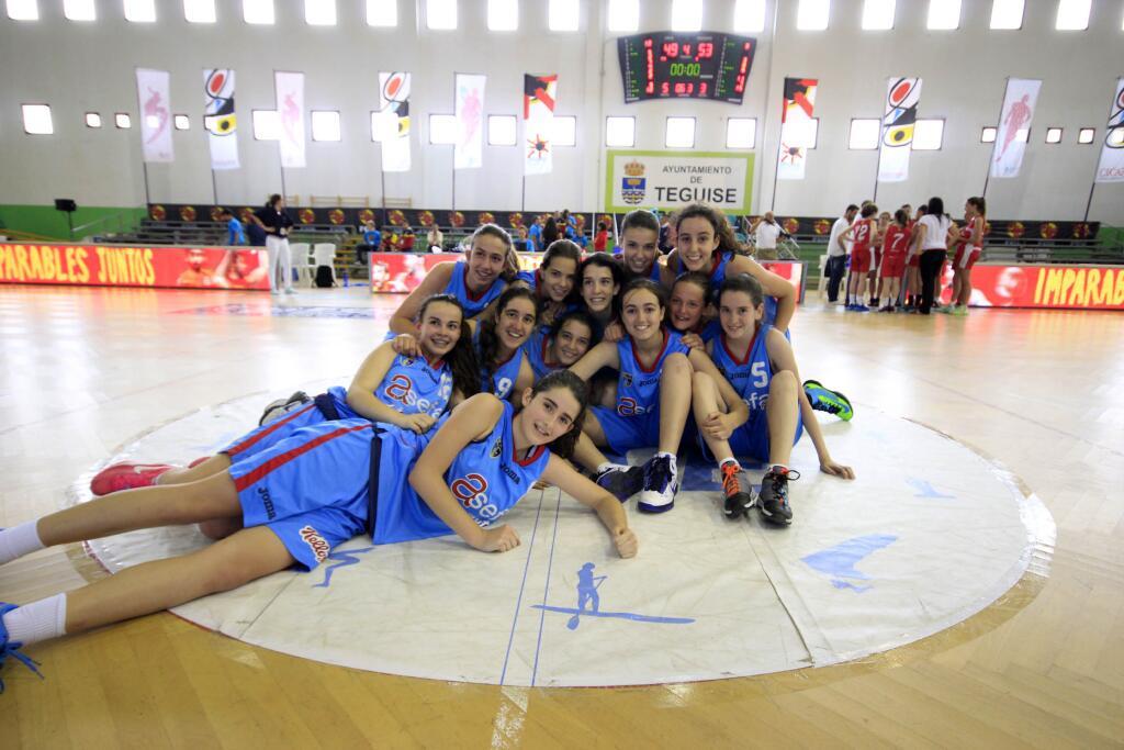 Campeonato de España Infantiles: Las chicas ¡terceras de España!