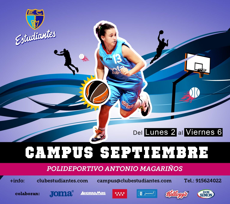 """Todavía puedes apuntarte al II Campus """"Comienza el baloncesto"""". 2- 6 de septiembre en Magariños"""