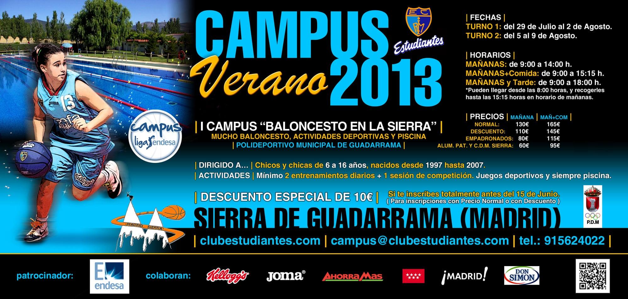 """I Campus """"Baloncesto en la Sierra"""" (Guadarrama)"""