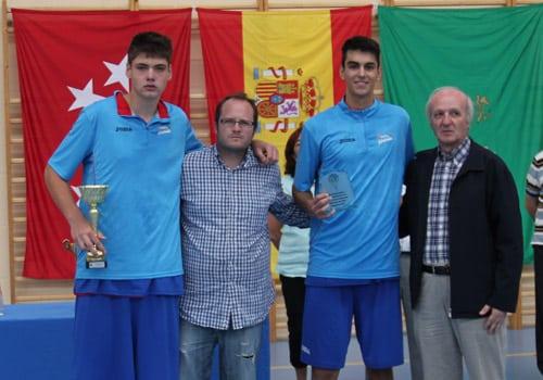 Junior: Subcampeones del torneo de Villaviciosa de Odón
