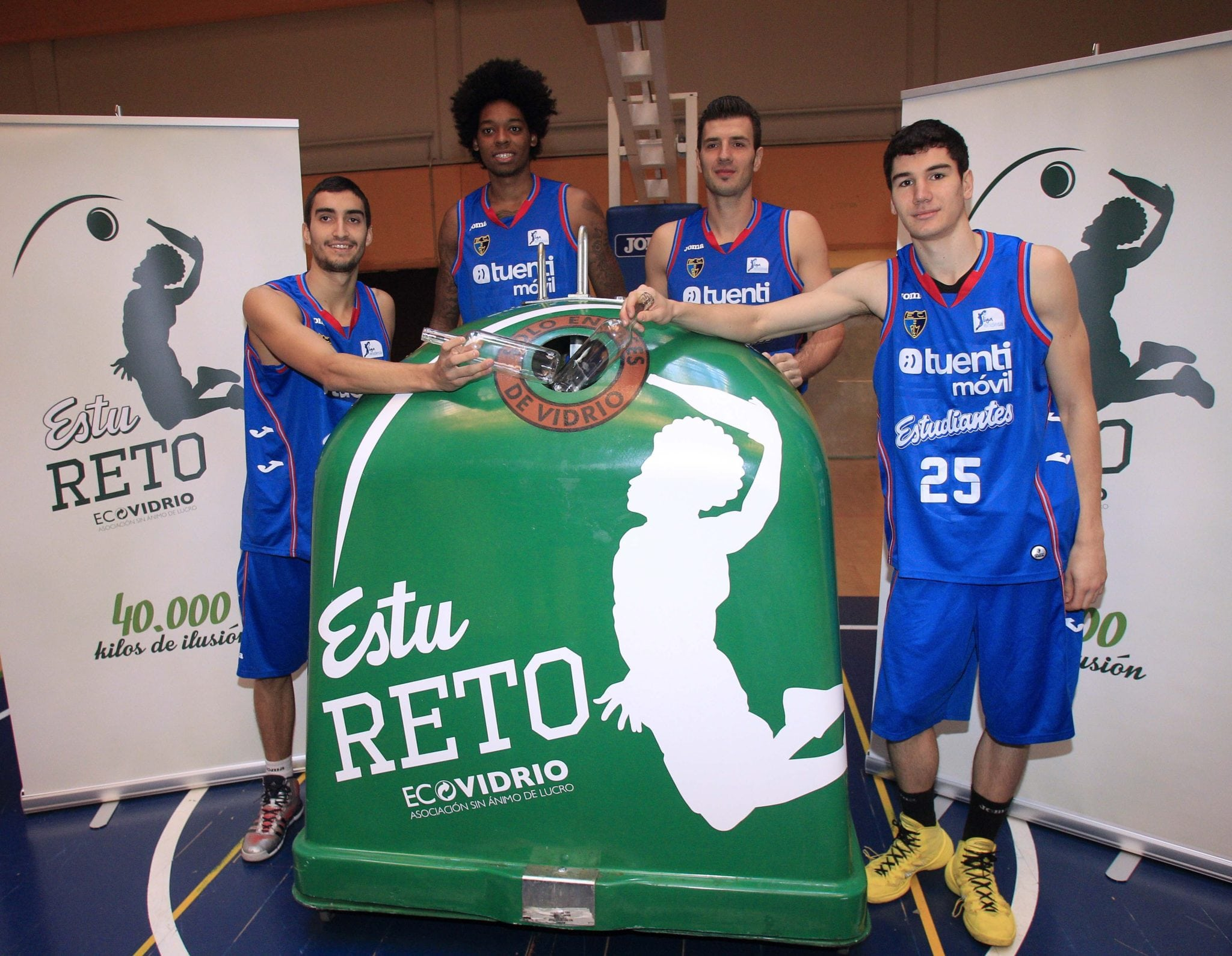 EstuReto con Ecovidrio: si reciclamos 40.000 kgs de vidrio, patrocinarán nuestra cantera
