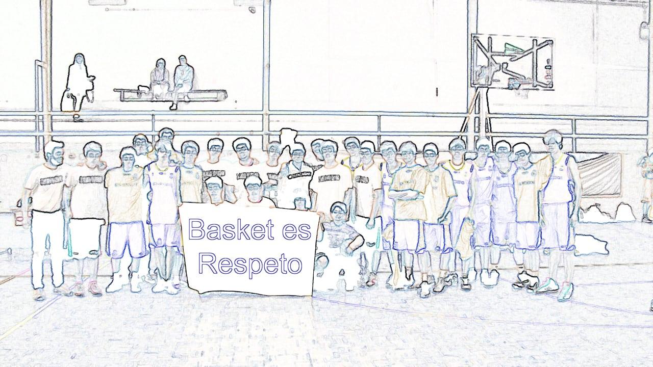 Basket es respeto. Jornada de Concienciación por un Baloncesto en Valores este domingo.