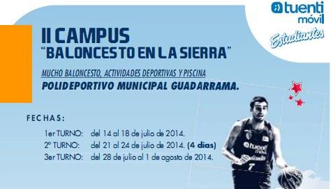 """II Campus """"Baloncesto en la Sierra"""", Guadarrama"""