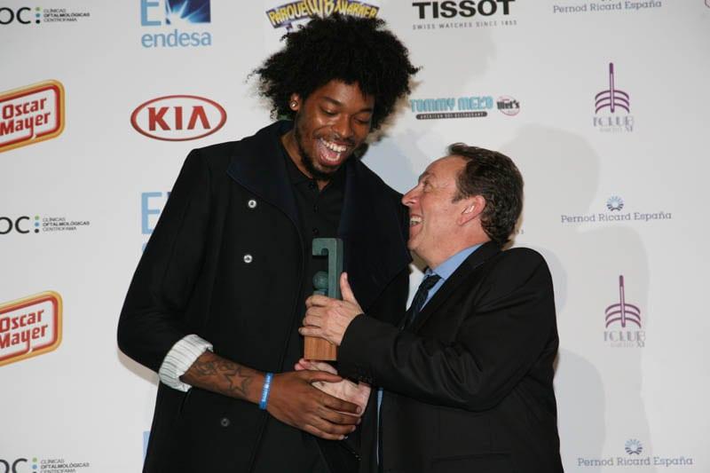 Lucas Nogueira, premio Gigantes del Basket al mejor defensor
