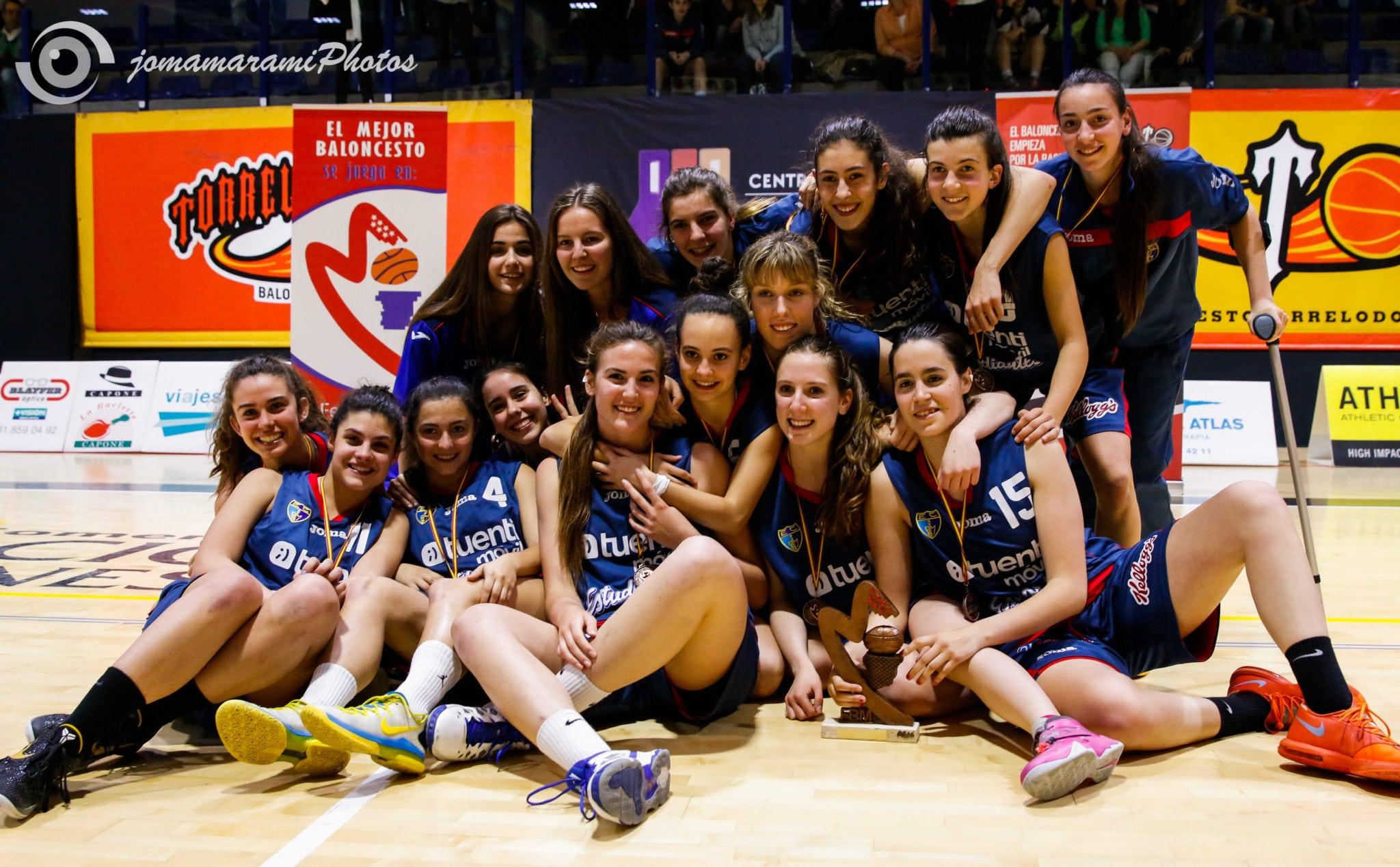 Las Junior, al Campeonato de España como terceras de Madrid
