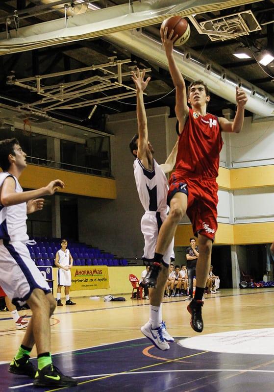 El Junior A Masculino en el  Campeonato de España en Marín