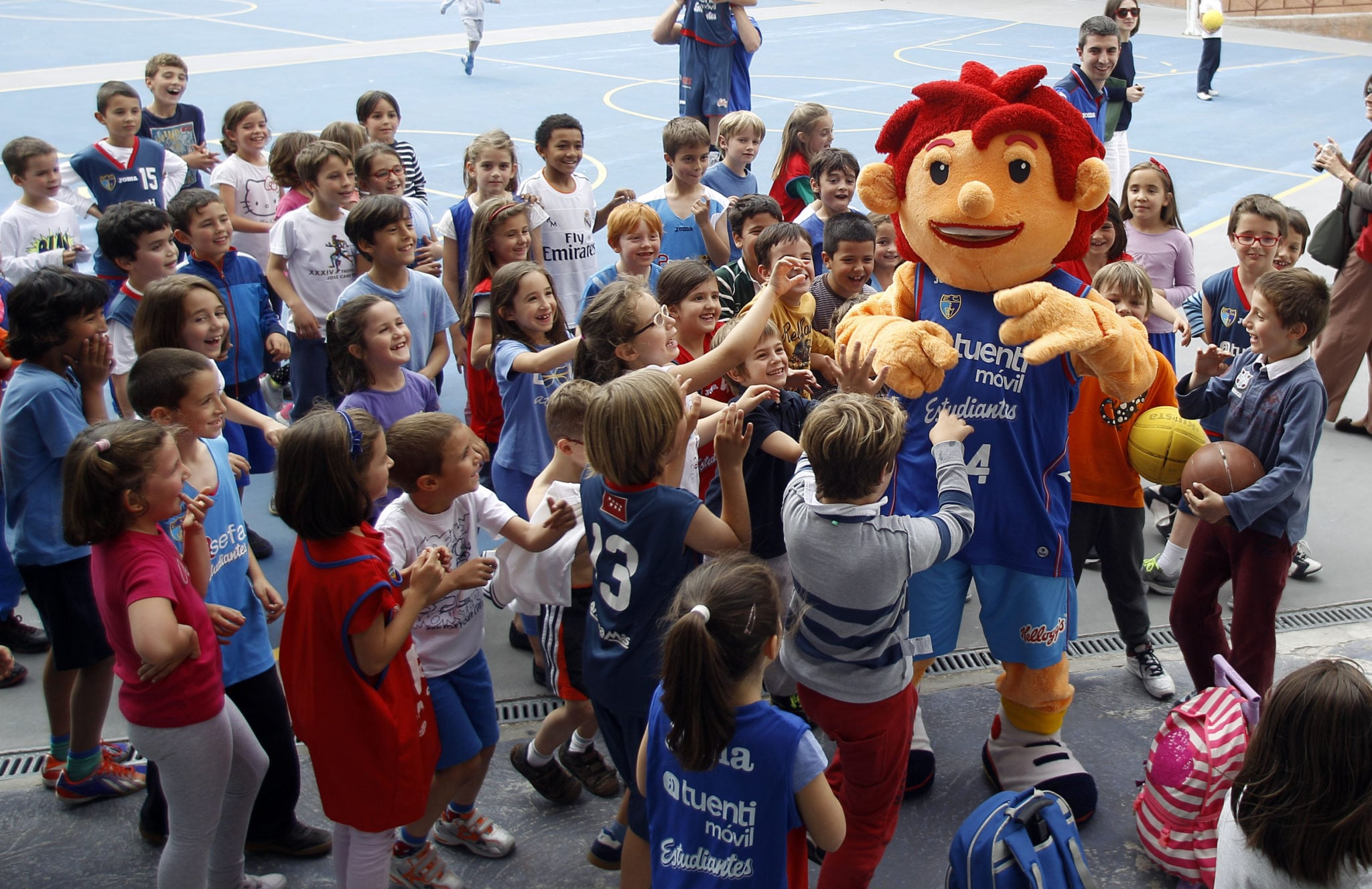 """Broche a la temporada de minibasket con la tradicional """"Fiesta del mini"""" (fotos)"""