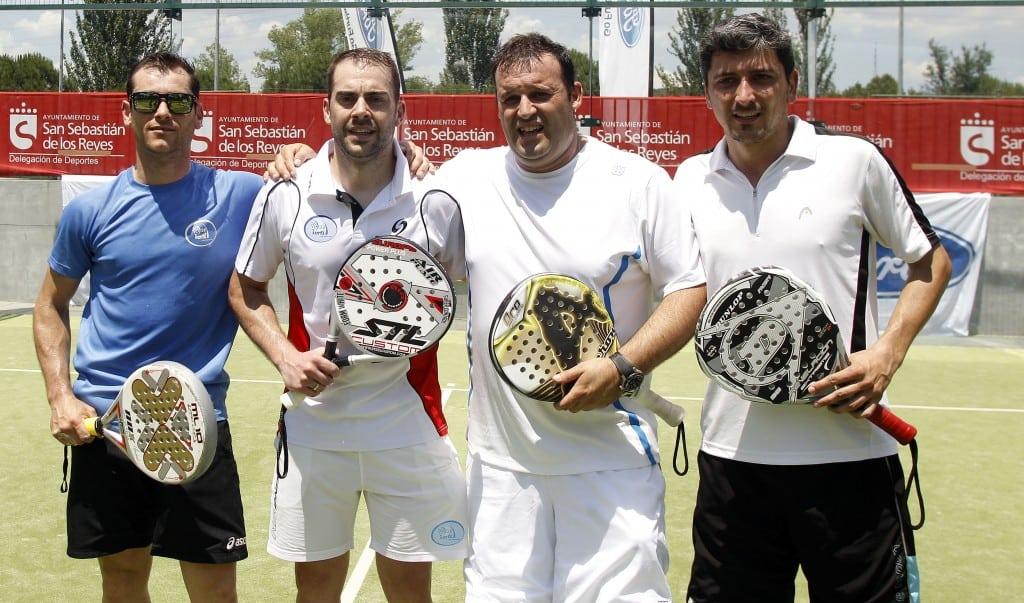 Altísimo nivel en el V Torneo de Pádel Club de Negocios Tuenti Móvil Estudiantes que se llevó la pareja de Allianz
