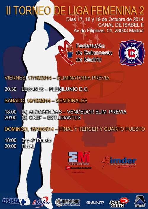 Del 17 al 19 de octubre, II Torneo de Liga Femenina 2 de la FBM
