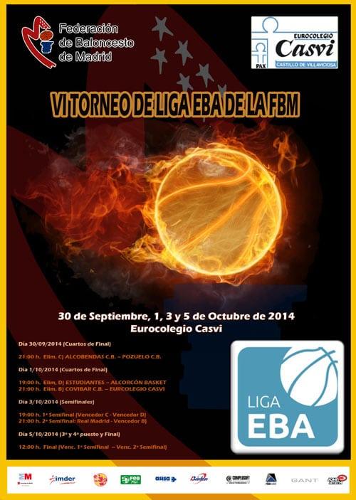 Torneo de Liga EBA de la Federación Madrileña: el nuevo proyecto del filial, a defender el título