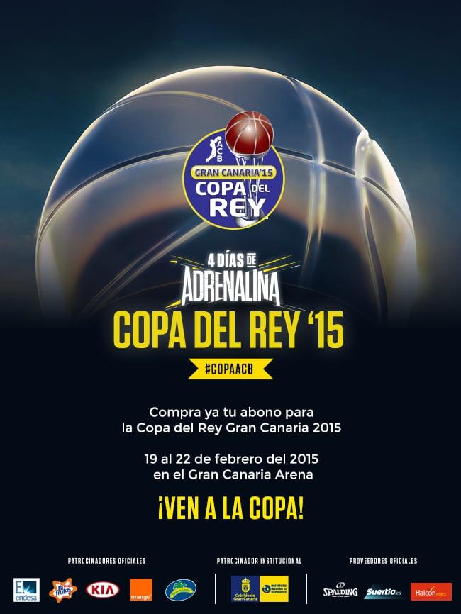 Venta preferente para abonados ACB de abonos para la Copa del Rey 2015