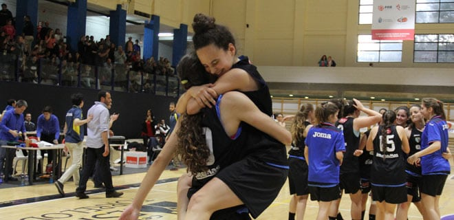 Las junior, subcampeonas de Madrid y al Campeonato de España