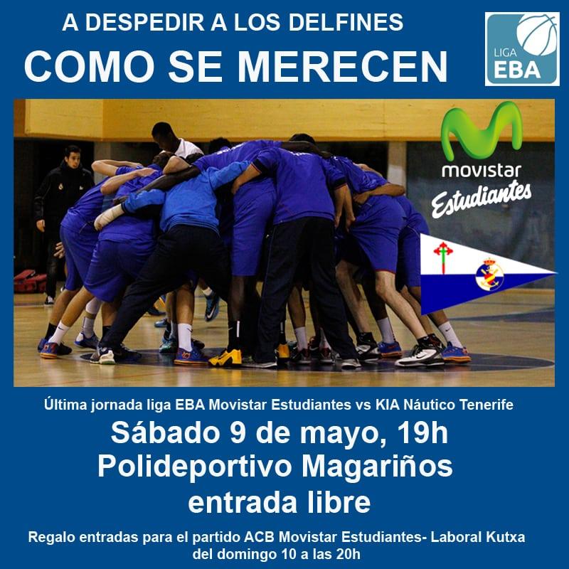 EBA: quiere cerrar la temporada ante el Náutico de Tenerife a lo grande y luchando (Sábado, 19.00h, Polideportivo Magariños)