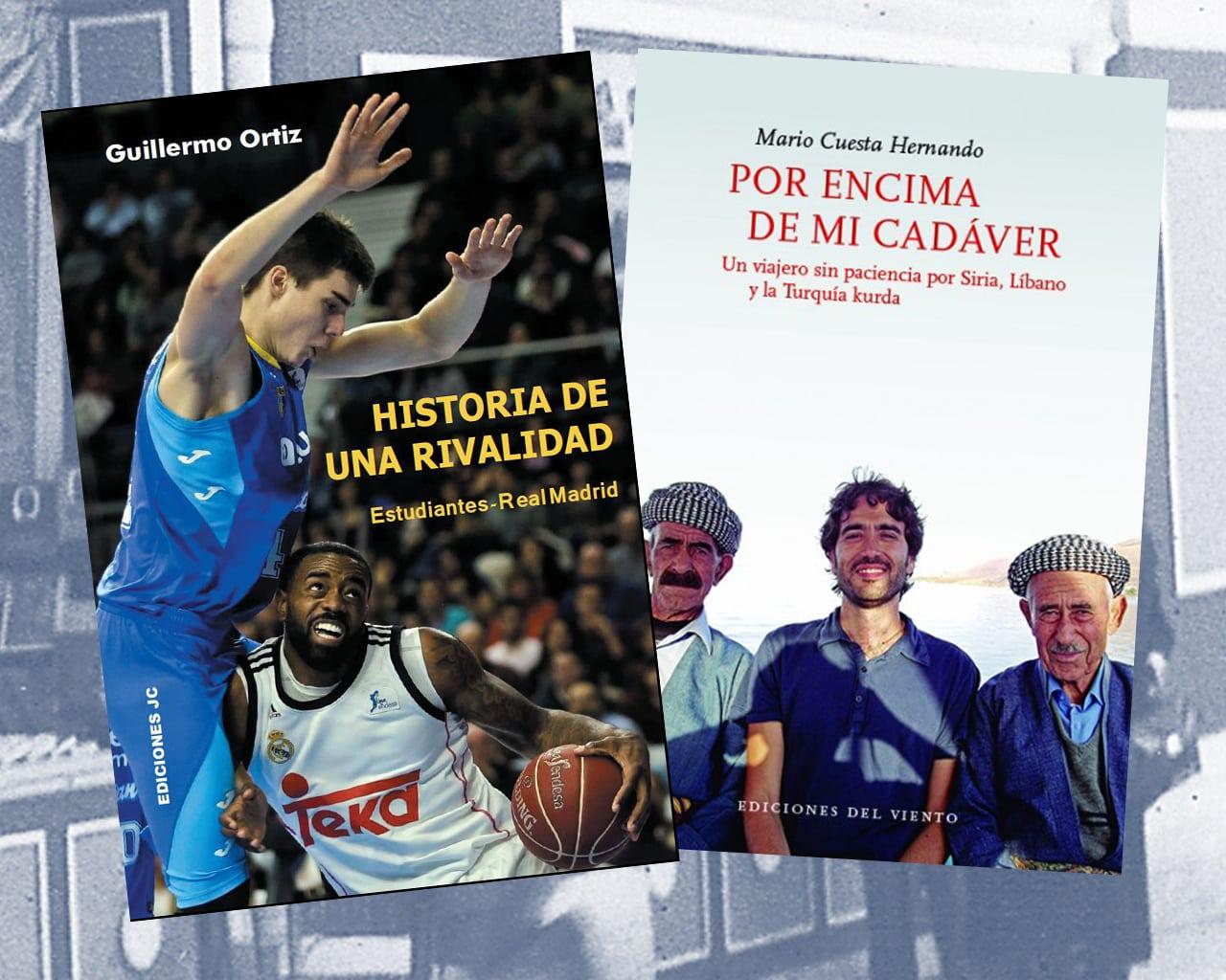 """Letras dementes: Guillermo Ortiz y Mario Cuesta firmarán sus libros """"Historia de una rivalidad"""" y """"Por encima de mi cadaver"""" en la Feria del Libro de Madrid"""
