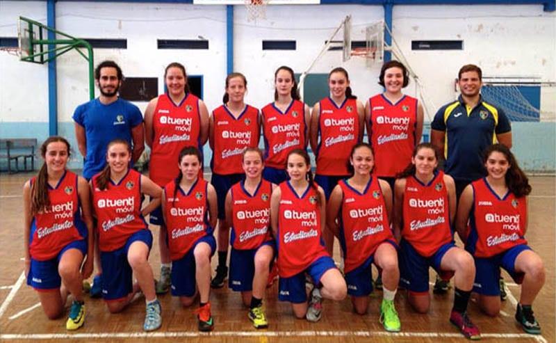 Campeonato de España Infantil Femenino. Las pequeñas women in black acaban sextas