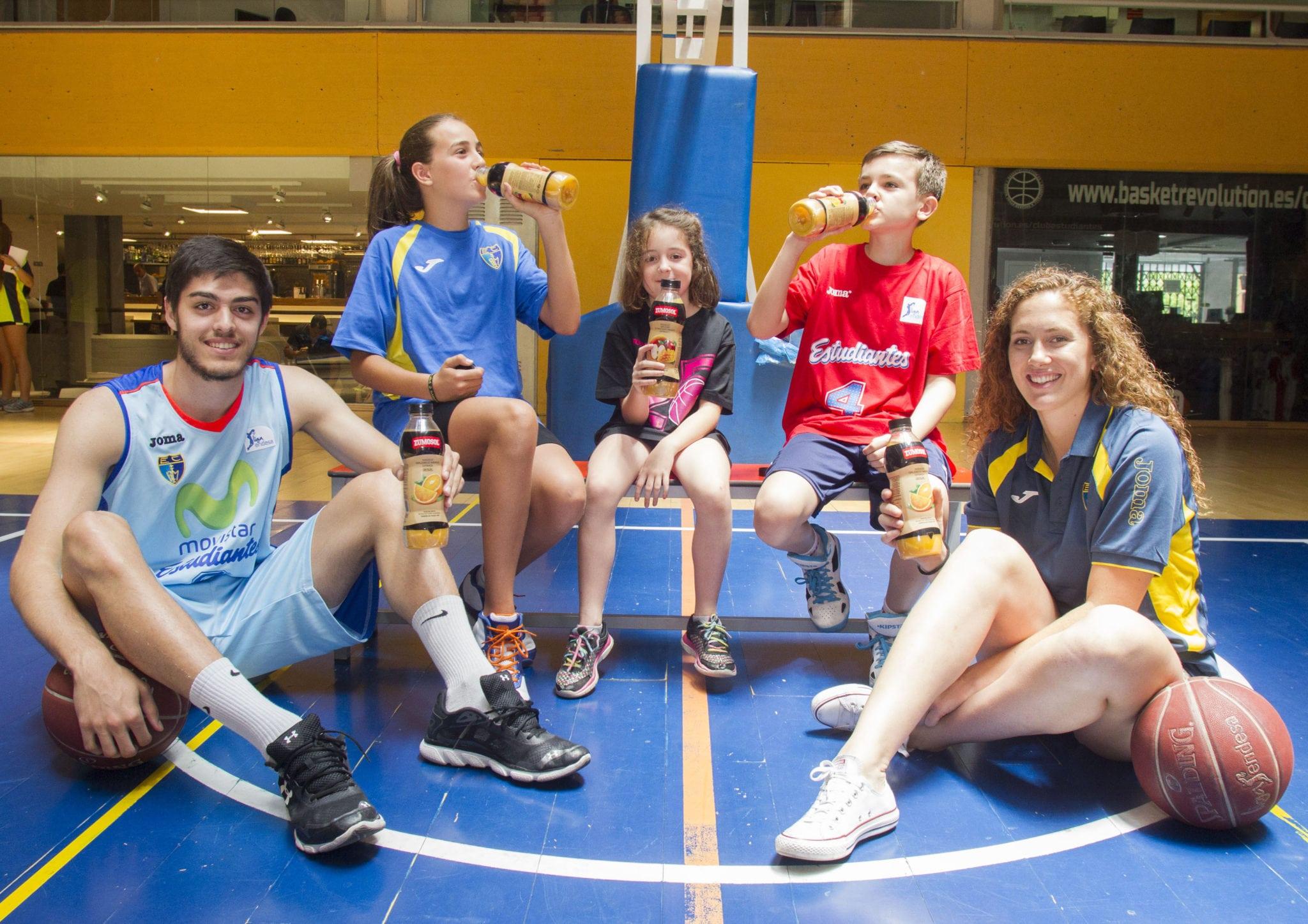 Zumosol se une a la familia de Movistar Estudiantes como patrocinador de cantera