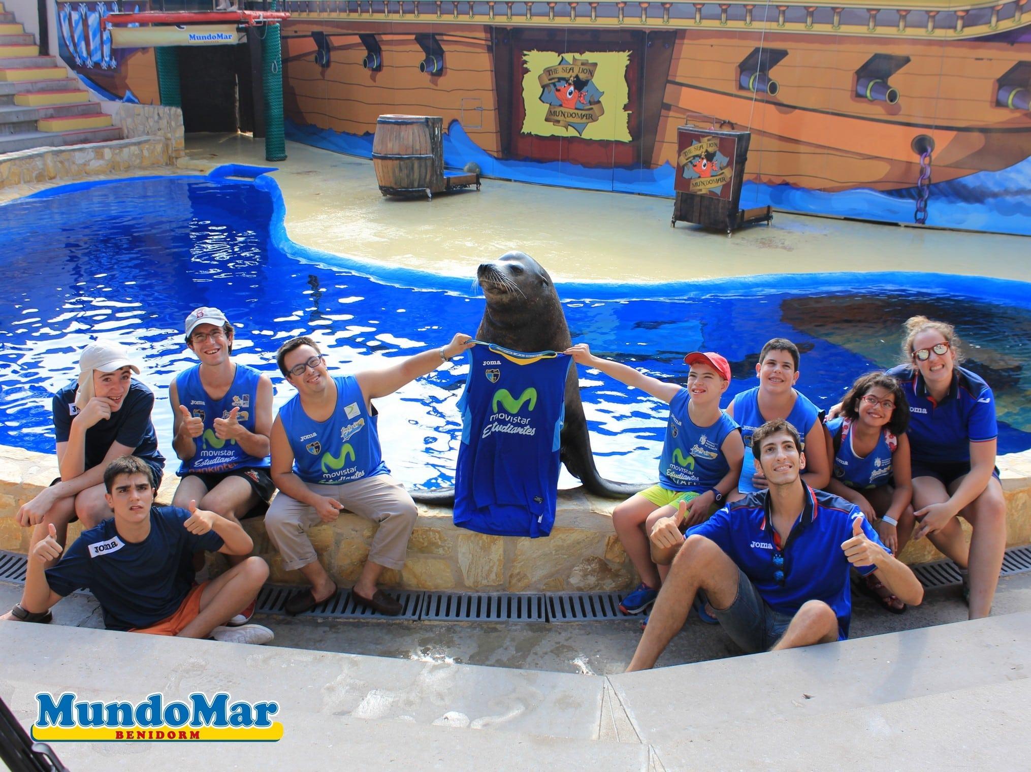 Fundación Estudiantes y Fundación Terra Mítica celebran su I Campus de Verano del mejor baloncesto y ocio