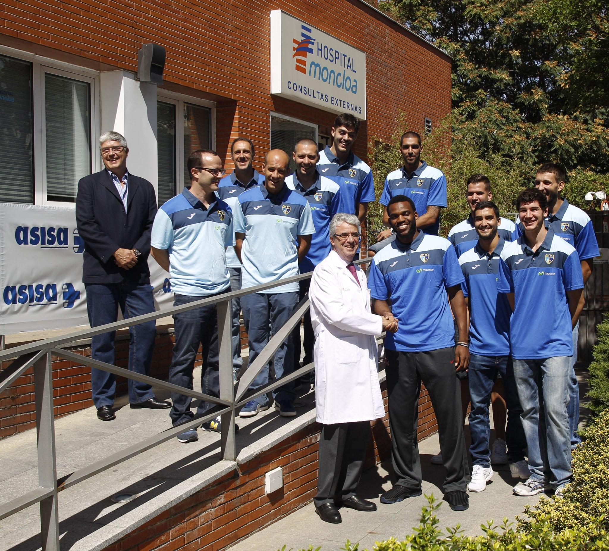 Movistar Estudiantes presenta su patrocinio con ASISA como proveedor de Seguros de Salud y el fichaje de Zach Graham